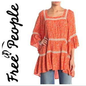 w/TAGs FREE PEOPLE Talk About it TUNIC Short DRESS